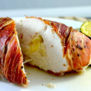 Prosciutto & Camembert Stuffed Chicken
