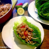 San Choy Bow / Sang Chow Bau - Chinese Mince in Lettuce Cups