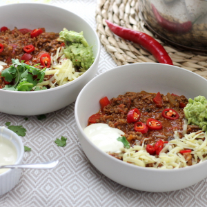Mexican Keto Chilli - Slow Cooker or Stove top