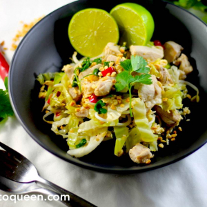 Keto Pad Thai - Full on Flavour in 30 minutes