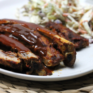 Keto Ribs with BBQ Sauce