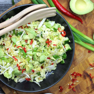 Keto Chinese Cabbage Salad