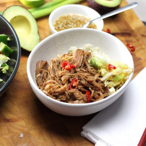 Keto Chinese Pulled Pork - Char Siu