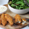 Keto Oven Baked Chicken Tenders With Parmesan Mayonnaise