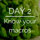 Day 2 of the 21 Day Keto Challenge - Macros on Keto