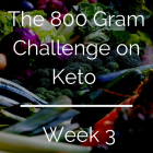 800 Gram Challenge On Keto - Week 3 (and week 2 review)