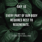 Day 10 of the 21 Day Keto Challenge November 2020