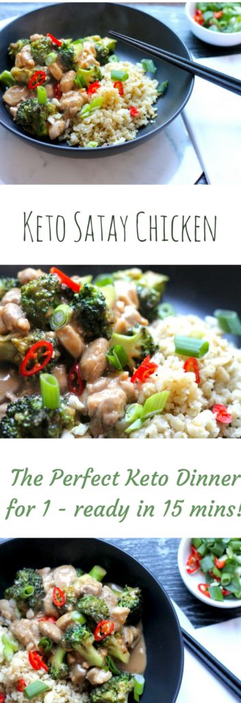Keto Satay Chicken
