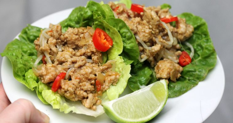 Keto San Choy Bow – Chinese Mince in Lettuce Cups