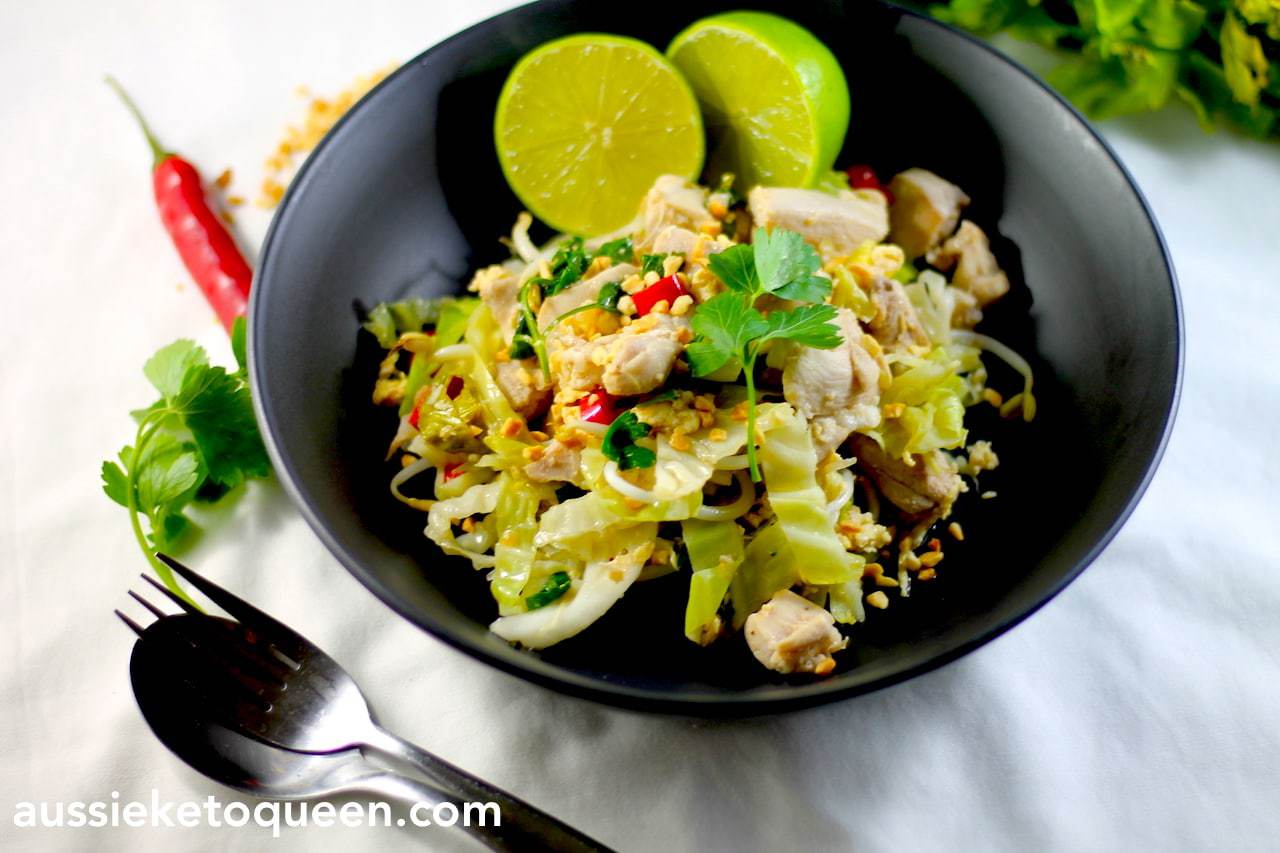 Keto Pad Thai – Full on Flavour in 30 minutes