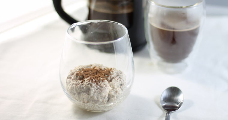Keto Coffee Chia Seed Puddings