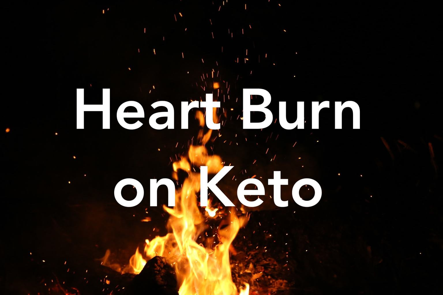 keto diet cause acid refluc