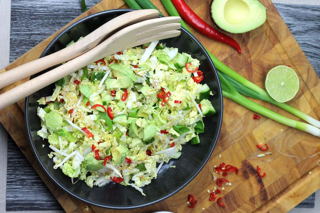 Keto Chinese Cabbage Salad Aussie Keto Queen