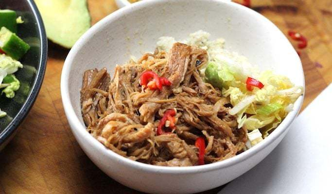 Keto Chinese Pulled Pork – Char Siu