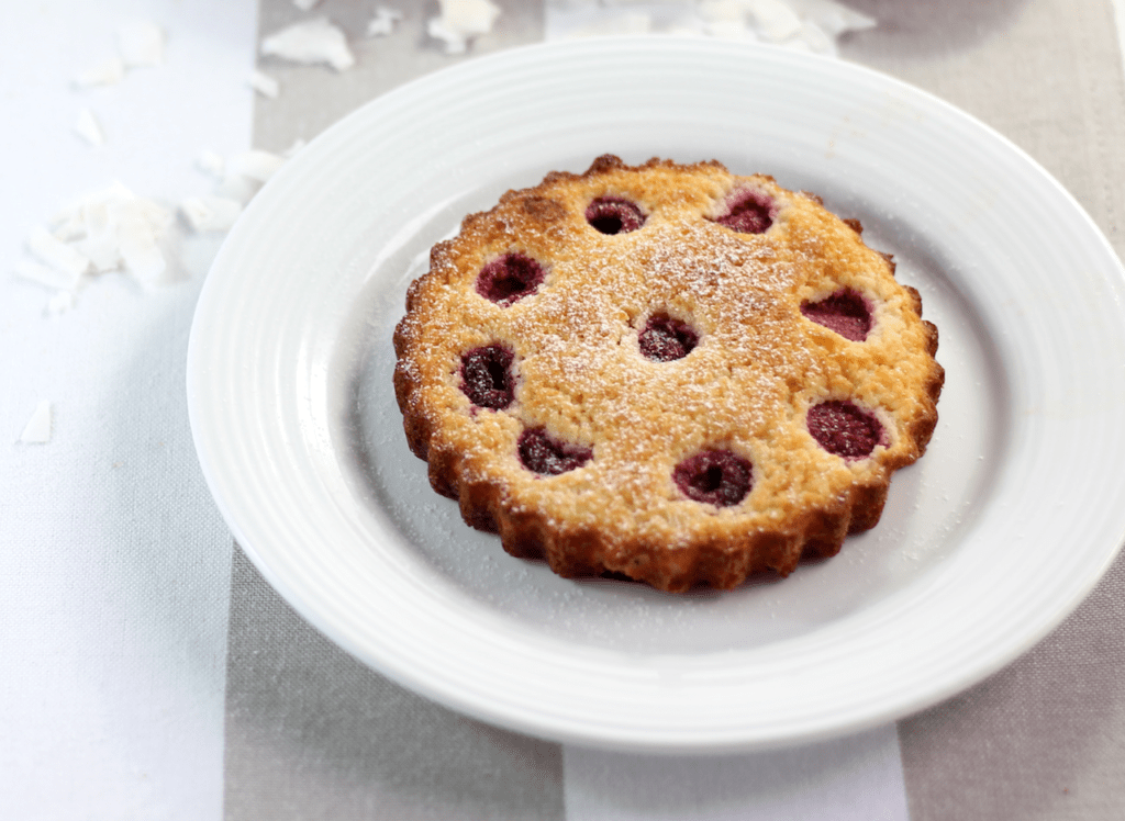 Keto Raspberry Tarts by Aussie Keto Queen. Individual tarts, muffins or a large flan - whatever you do with this recipe, you will have a moist, vanilla flavoured cake that is perfect for entertaining. Learn how to use up egg whites, 5 egg whites #ketodessert #keto #ketodiet #ketofood