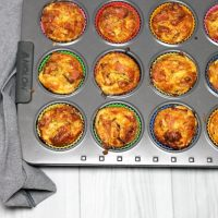 Keto Ham and Zucchini Muffins by Aussie Keto Queen. Simple flavours done well, these are moist little bites perfect for a lunch or snack on the go. Make a batch ahead and freeze for lunches all week or an after work/school snack!