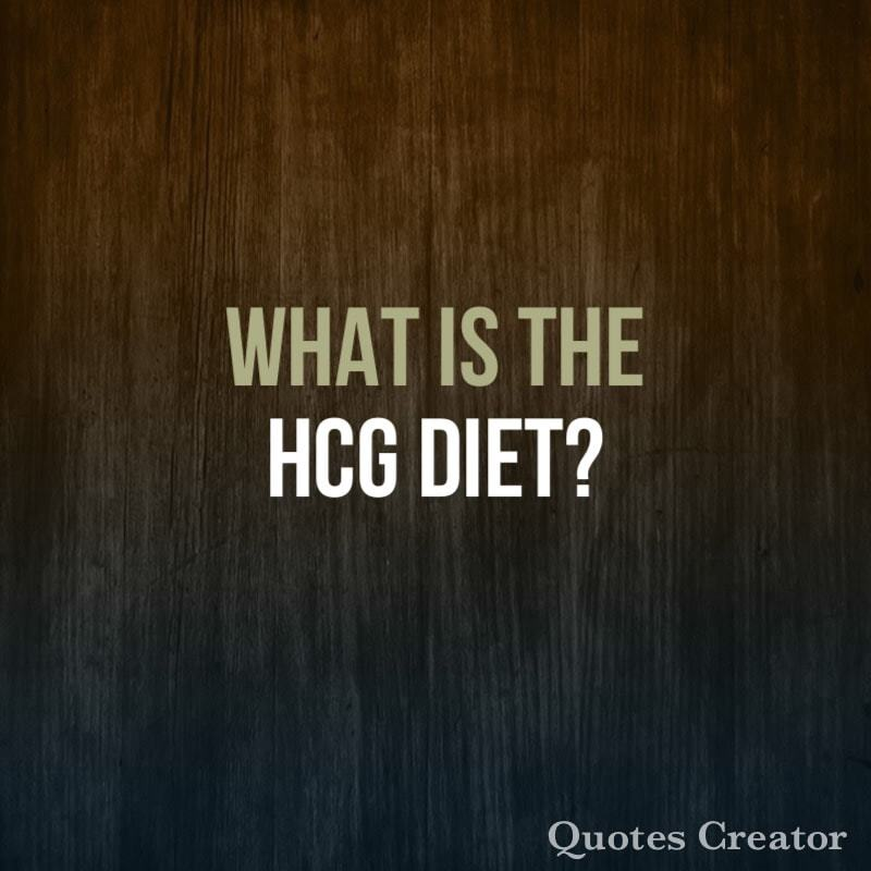 My Experience with the HCG Diet
