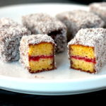 Keto Lamingtons, keto desserts, keto australian recipes