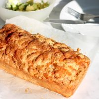 Keto Cheese and Bacon Bread by Aussie Keto Queen. This loaf has all the best things about keto, loaded with bacon and cheese, eggs and almond flour. Tasty keto cheese and bacon bread is so easy to make, and is a perfect keto snack, breakfast on the go and is freezer friendly. One of the most easy Keto meals you can try! #keto #ketogenic Keto Cheese and Bacon Bread, Keto Bacon and Cheese bread, keto bread, keto loaf, keto breakfast, keto snacks