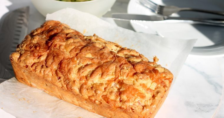 Keto Cheese and Bacon Bread