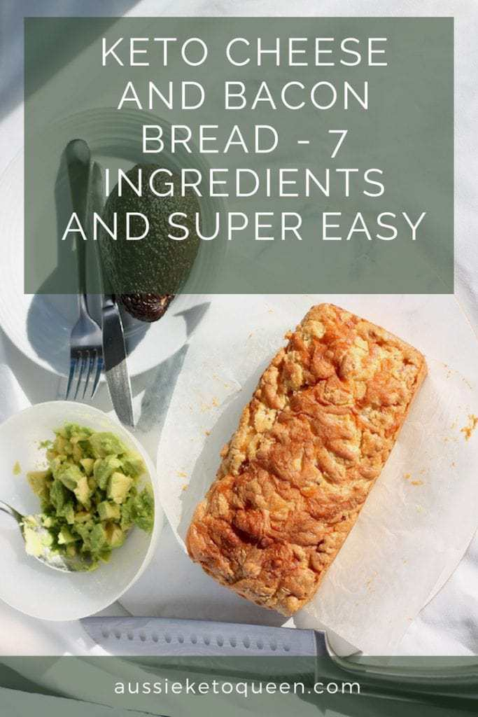 Tasty keto cheese and bacon bread is so easy to make, and is a perfect keto snack, breakfast on the go and is freezer friendly. One of the most easy Keto meals you can try! #keto #ketogenic