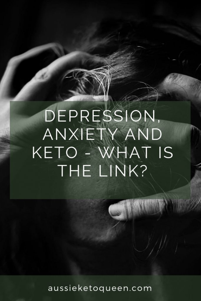 Anxiety and keto - connection between anxiety and ketogenic diet is becoming more and more apparent. How does our diet and gut health affect our mental health, Keto and depression? #Keto #ketogenicdiet #ketogenic