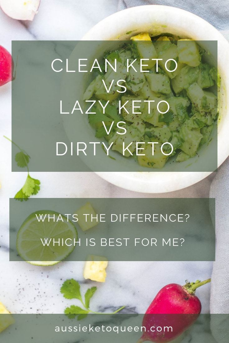 strict keto vs lazy keto vs dirty Keto - it's a never ending debate. Which Keto is best for me? Find out the differences and which Keto Style WORKS. #keto #ketogenicdiet #ketorecipes