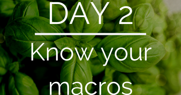 Day 2 of the 21 Day Keto Challenge – Macros on Keto