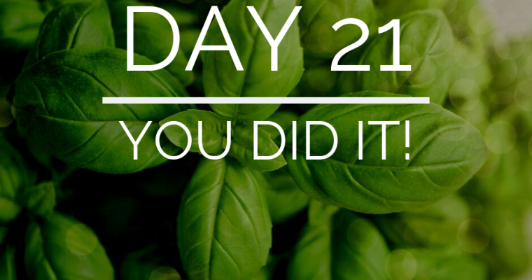 Day 21 of the 21 Day Keto Challenge