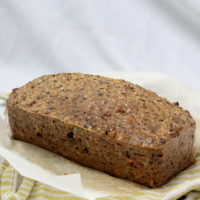 Keto Seed Bread by Rachel Burke Aussie Keto Queen. This Keto Seed Bread is the perfect keto lunch, make ahead and eat all week. Nutrient dense and no hard to find ingredients. This loaf has all the best things about keto, loaded with bacon and cheese, eggs and almond flour. Perfect for breakfast, lunch, dinner or a snack!