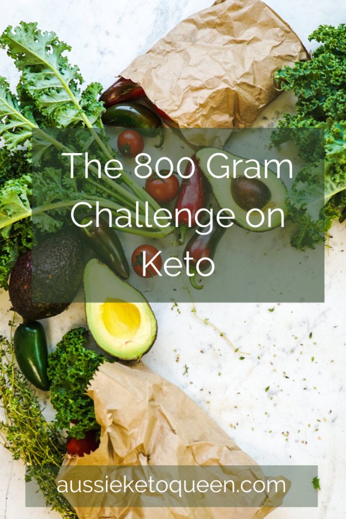 The 800 gram challenge on Keto is tough - getting 800 grams of veggies while keeping low carb! Follow along for tips and recipe ideas