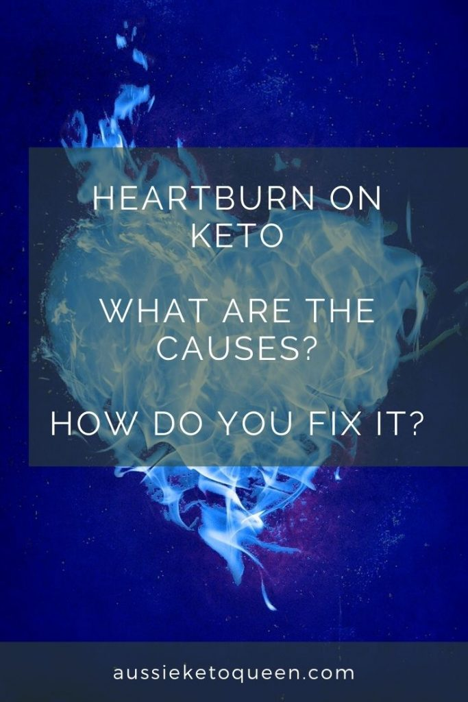 Heartburn on Keto is a common complaint but you dont have to suffer with it! Check out these top causes of heartburn and tips to reduce it for good.