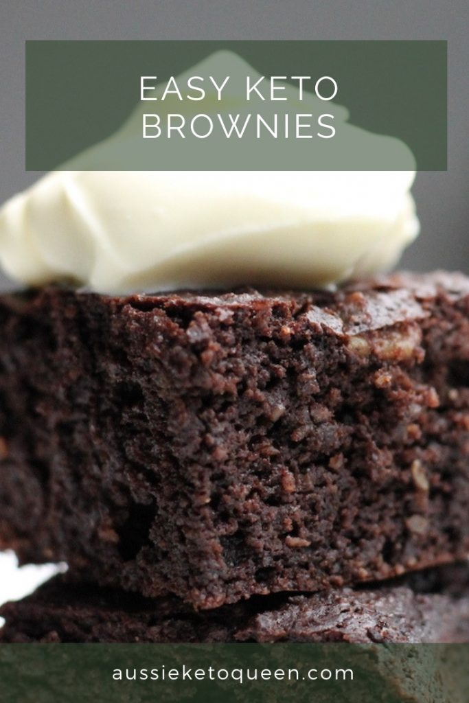 Easy Keto Brownies are a must have for every Keto eater! Ready in 25 minutes and using simple ingredients you probably already have. Make easy keto desserts to stay on track with your keto diet.
