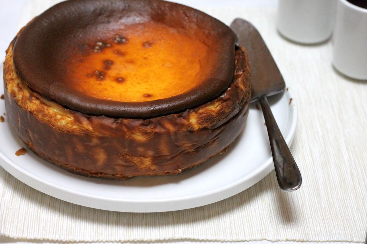 Keto Burnt Basque Cheesecake
