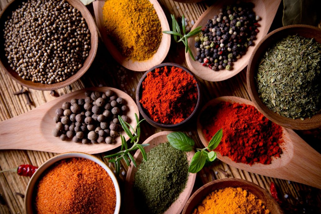 Tip 8: Try using spices like pepper, cumin, coriander or paprika to add variety to your meals and lessen the craving for savoury carbs like bread, chips or pasta.