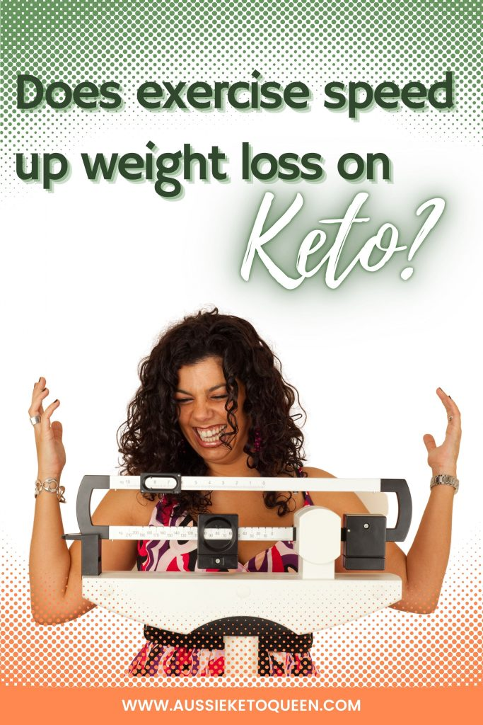 Does exercise speed up weight loss on Keto?